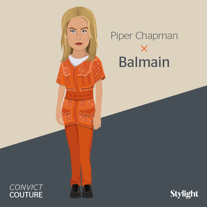 Orange is the New Black Piper by Stylight